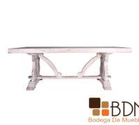 Mesa Comedor Vintage Blanca