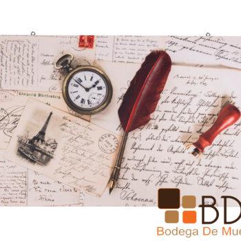 Cuadro Estilo Vintage Letter
