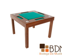 Mesa de Juego Cuadrada Kontempo Poker 4