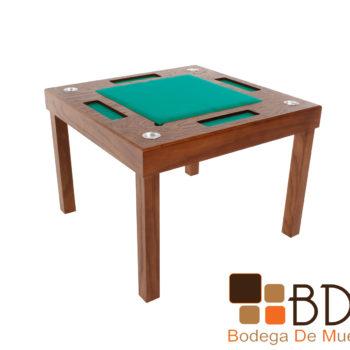 Mesa de Juego Cuadrada Poker 4
