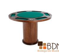 Mesa de Juego Redonda Kontempo Poker 6