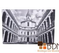 Cuadro Decorativo Blanco y Negro Roma