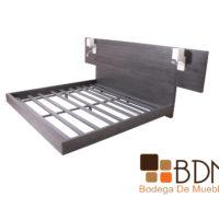 Base moderna de madera para recamara