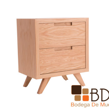 Buro minimalista de madera
