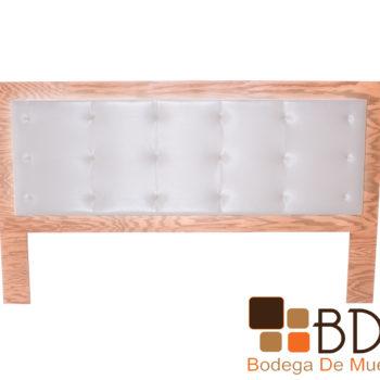 Cabecera de madera con luz led