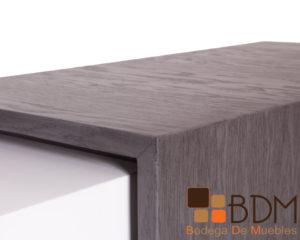 Mueble de madera para recepcion