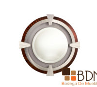 Espejo circular elegante moderno