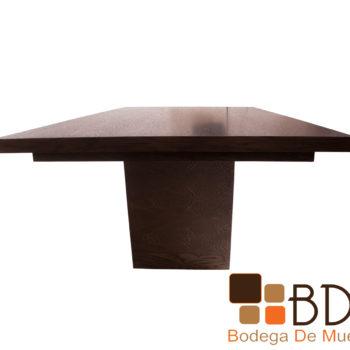 Mesa rectangular de madera para comedor
