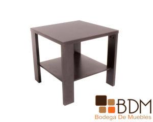 Mesa lateral moderna de madera para sala