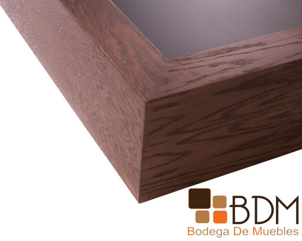 Recamara contemporanea de madera king size