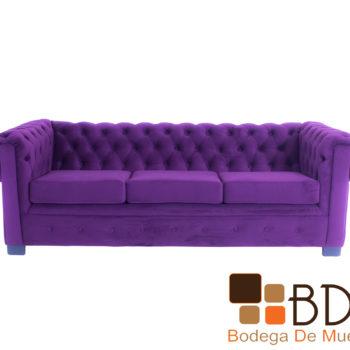 Sofa contemporaneo de madera