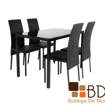 Comedor rectangular con sillas incluidas