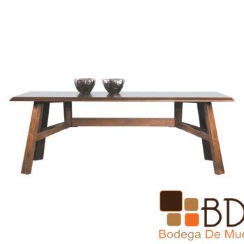 Mesa rectangular rustica de comedor