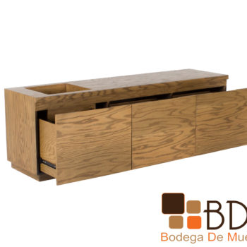Mueble para TV contemporaneo fabricado en MDF
