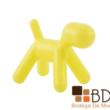 Banco minimalista infantil de plastico