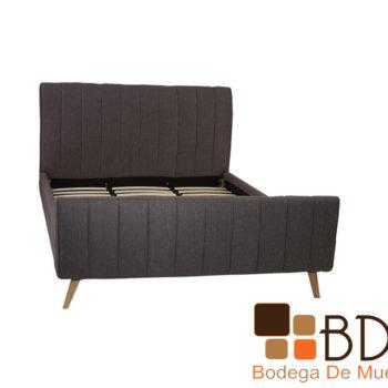 Base minimalista para cama matrimonial