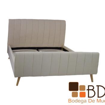 Base minimalista para cama queen size