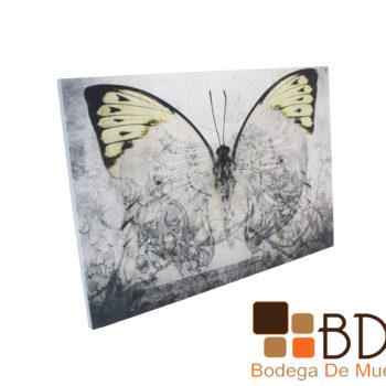 Cuadro con impresion digital y marco de madera