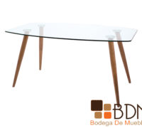Mesa para comedor con estructura rustica