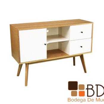 Mueble para TV con cajones rustico