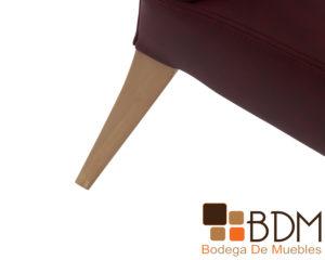 Silla rustica para comedor en madera de pino poplar
