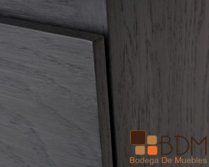 Escritorio moderno de madera en mdf con cajones