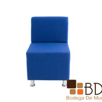 Sillon moderno minimalista individual para oficina o recibidor