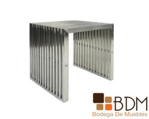 Mesa Lateral Lineal de Metal Moderna para Sala