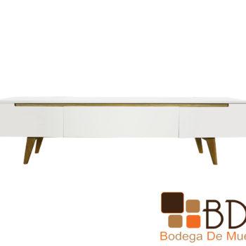 Mueble para TV Moderno Sencillo Color Blanco