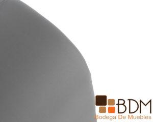 Sillon kamasutra erotico color gris en tactopiel y madera