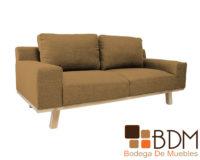 Sofa Dos Plazas Moderno para Sala Contemporaneo