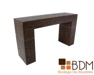 Consola estilo grapa moderna de madera