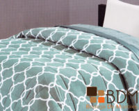 Edredon king size moderno para cama