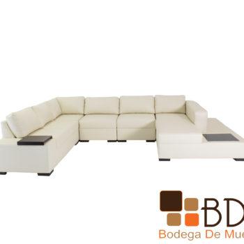 Sala moderna con sillones en color beige