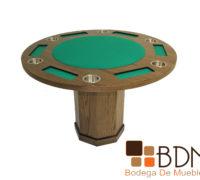 Mesa de Juego con base hexagonal kontempo poker 6