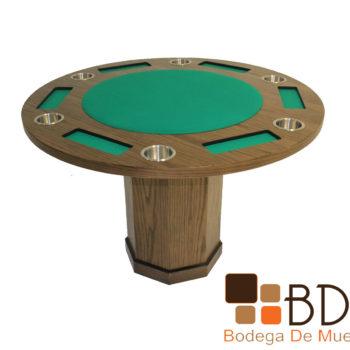 Mesa de Juego con Base Hexagonal Poker 6