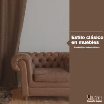 Estilo clásico en muebles de hogar